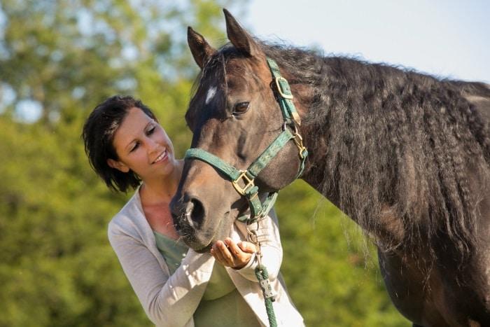 Nicole Reiter Kräuter für Pferde